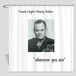 Good Night Chesty Shower Curtain