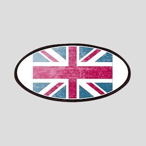 Union Jack Retro Patches