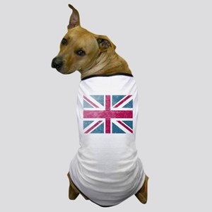 Union Jack Retro Dog T-Shirt