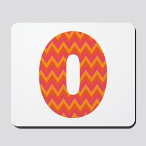 O Monogram Chevron Mousepad
