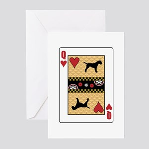 Queen Terrier Greeting Cards (Pk of 10)