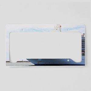 Cruise ship 15 License Plate Holder