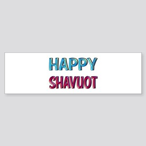 Happy Shavuot Bumper Sticker