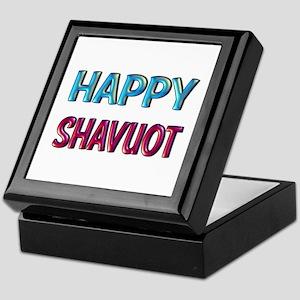 Happy Shavuot Keepsake Box