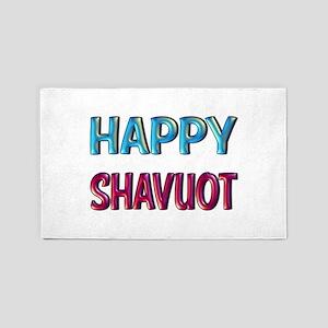 Happy Shavuot 3'x5' Area Rug