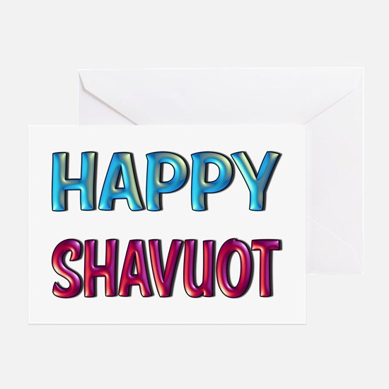 Happy Shavuot Greeting Cards