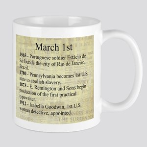 March 1st Mugs