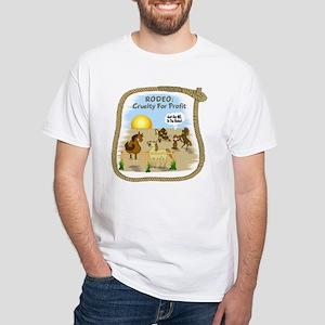 """Rodeo Fun"" White T-Shirt"
