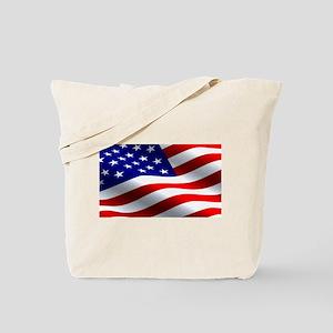 US Flag Tote Bag