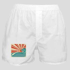 wave at dawn Boxer Shorts