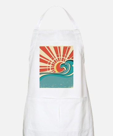 wave at dawn Apron
