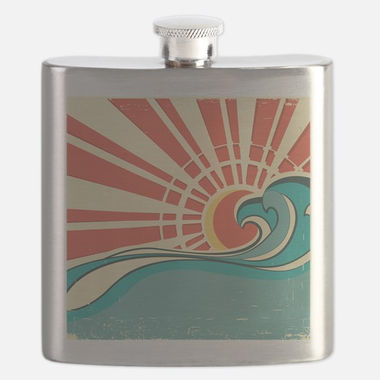 wave at dawn Flask
