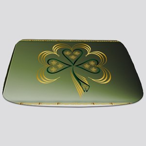 One Big Bright Shamrock Bathmat