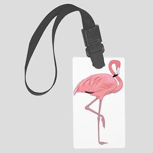 Beautiful Flamingo  Large Luggage Tag