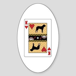 King Fila Oval Sticker
