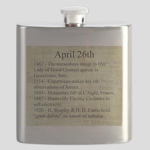April 26th Flask