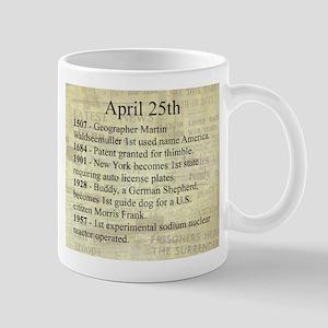 April 25th Mugs