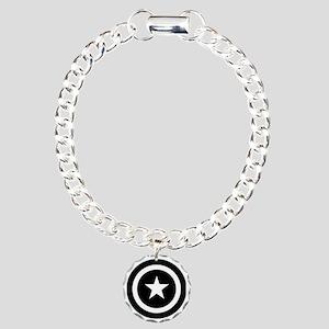 Captain America Charm Bracelet, One Charm