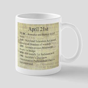 April 21st Mugs