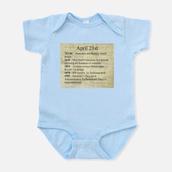 April 21st Body Suit