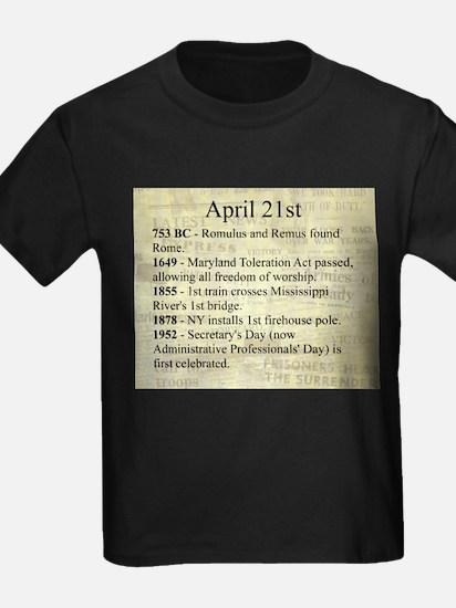 April 21st T-Shirt
