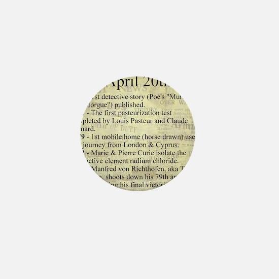 April 20th Mini Button