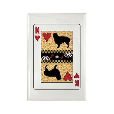 King Spaniel Rectangle Magnet (100 pack)
