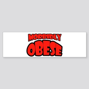 OBESE Bumper Sticker