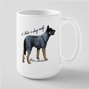 Attentive Australian - Large Mug Mugs