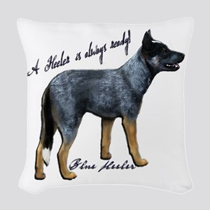 Attentive Australian - Woven Throw Pillow