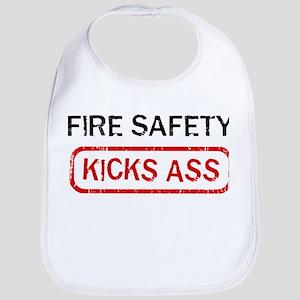 FIRE SAFETY kicks ass Bib