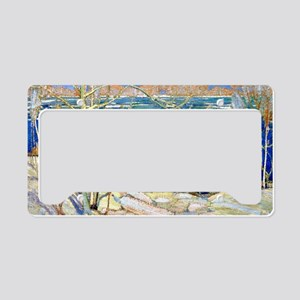 Tom Thomson - Spring Ice License Plate Holder