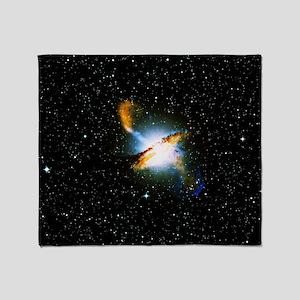 Centaurus A Throw Blanket