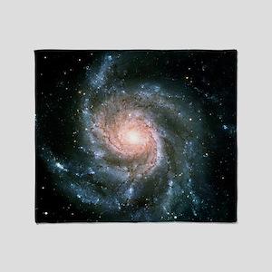 Pinwheel Galaxy Throw Blanket
