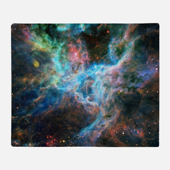 Tarantula Nebula Throw Blanket