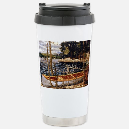 Tom Thomson - The Canoe Stainless Steel Travel Mug