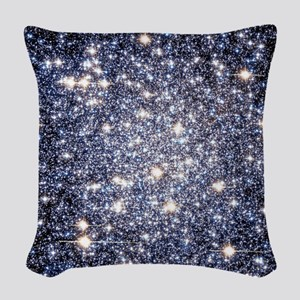 Starscape Woven Throw Pillow