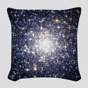 Messier 69 Star Cluster Woven Throw Pillow