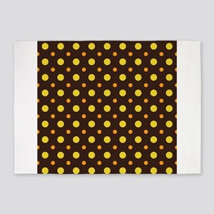 Dots-2-28 5x7Area Rug
