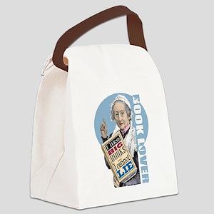 Big Books 1 Canvas Lunch Bag