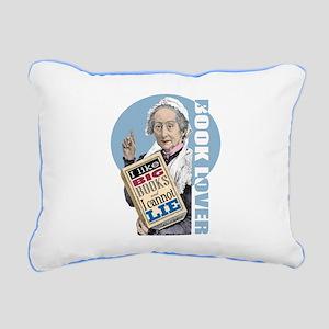 Big Books 1 Rectangular Canvas Pillow