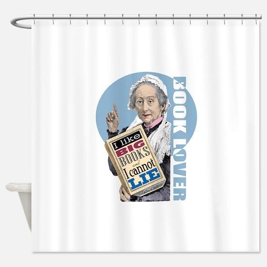 Big Books 1 Shower Curtain