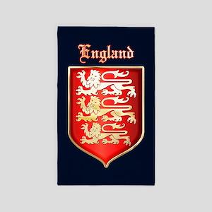The Royal Arms of England Area Rug