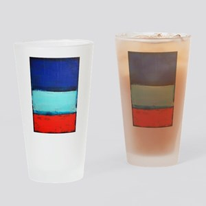 ROTHKO RED_BLUE Drinking Glass