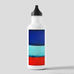 ROTHKO RED_BLUE Water Bottle