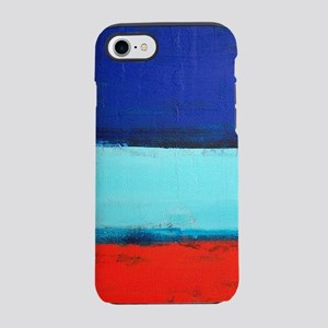 ROTHKO RED_BLUE iPhone 7 Tough Case