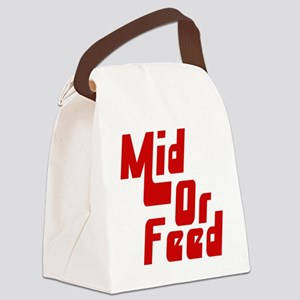 Mid or Feed Canvas Lunch Bag
