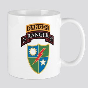 2nd Ranger Bn with Ranger Tab Mugs