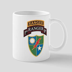 1st Ranger Bn with Ranger Tab Mugs