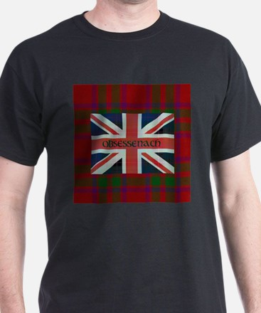 Obsessenach with red plaid border T-Shirt